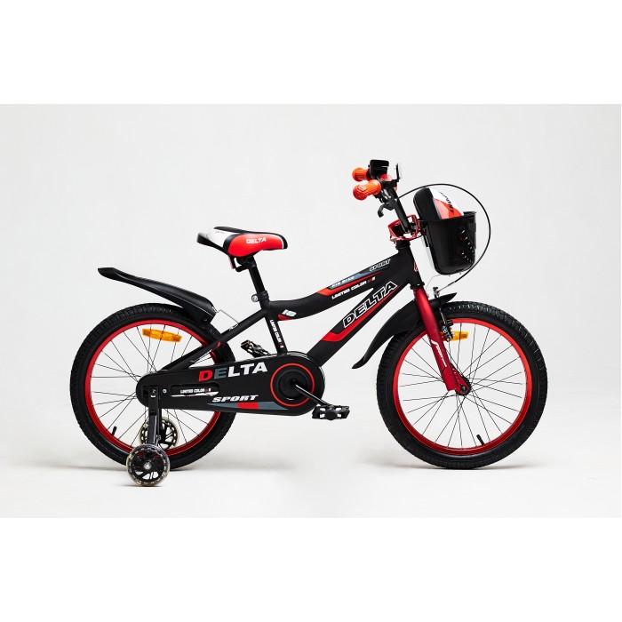 Детский велосипед Delta Sport 20 (красный, 2020)