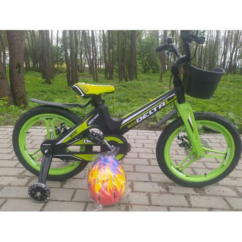 Детский велосипед Delta Prestige D 18 (зеленый, 2020) облегченный