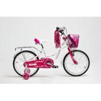 """Велосипед Delta Butterfly 16"""" (белый/розовый, 2019) купить в Минске"""