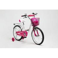 """Велосипед Delta Butterfly 18"""" (белый/розовый, 2019) купить в Минске"""