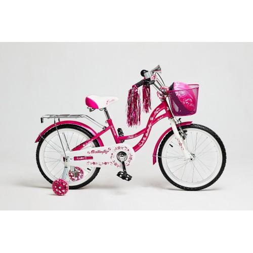 Детский велосипед Delta Butterfly 16 (розовый, 2020)