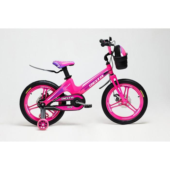 Детский велосипед Delta Prestige D 18 (розовый, 2020) облегченный