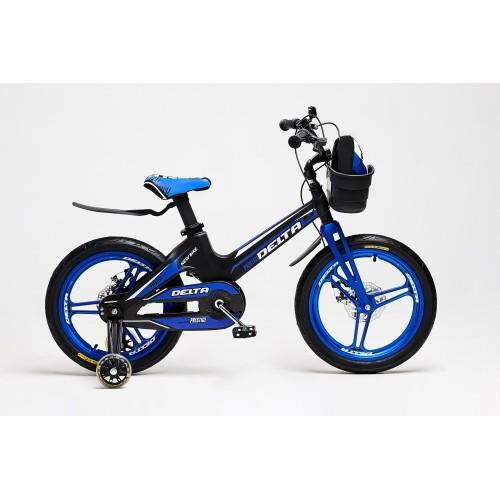 Детский велосипед Delta Prestige D 18 (синий, 2020) облегченный