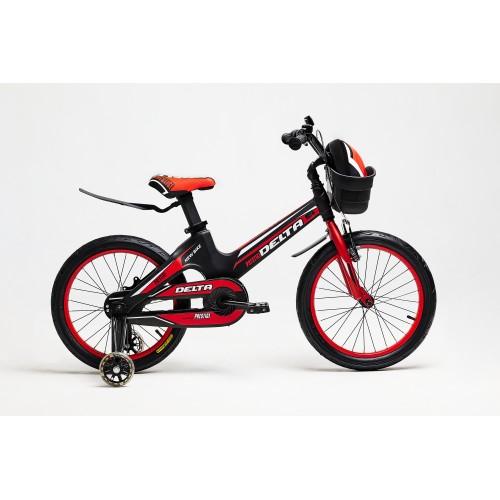 Облегченный детский велосипед Delta Prestige 16 (красный, 2020)