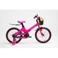 Детский велосипед Delta Prestige 16 (розовый, 2020) облегченный