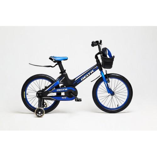 Облегченный детский велосипед Delta Prestige 16 (синий, 2020)
