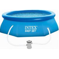 28122 Надувной бассейн Intex EASY SET 305x76 см + фильтр-насос 1250 л.ч купить в Минске