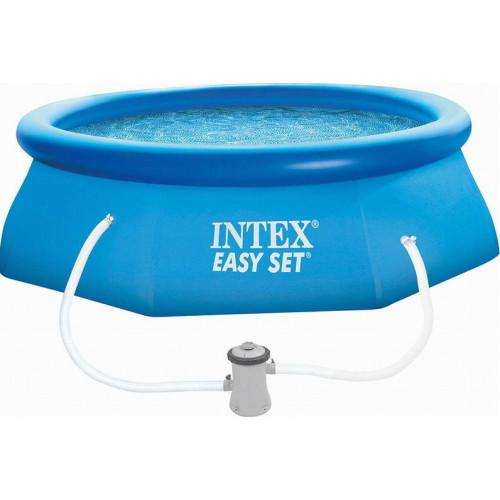 28122 Надувной бассейн Intex EASY SET 305x76 см + фильтр-насос 1250 л.ч