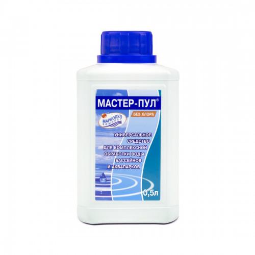 Химия для бассейна АЛЬГИТИНН, жидкость для борьбы с водорослями, 1л