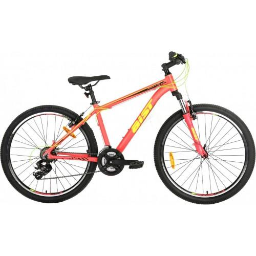 """Велосипед Aist Rocky 1.0 26"""" (оранжево-зеленый, 2019)"""