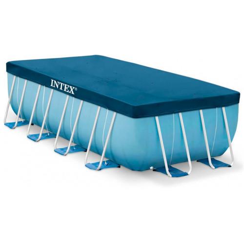 28037 Тент-чехол для каркасных бассейнов Intex 400х200 см