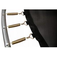 Батут ProFit RedLine 312 см - 10 ft с защитной сеткой и лестницей