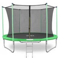 Батут Happy Jump 10ft (312см) с внутренней сеткой и лестницей
