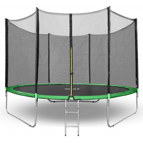Батут Happy Jump 10ft (312см) с внешней сеткой и лестницей