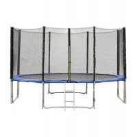 Батут Bebon Sports 13ft (396 см) с внешней сеткой и лестницей