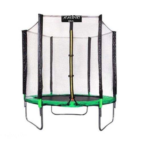 Батут Atlas Sport 183 см - 6ft с внешней сеткой без лестницы