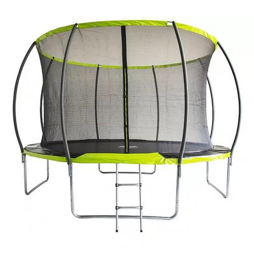 Батут Fitness Trampoline GREEN 366 см - 12 FT INSIDE