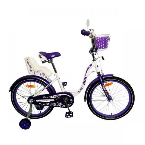 Детский велосипед Bibi Fly 18 (2021, фиолетовый)