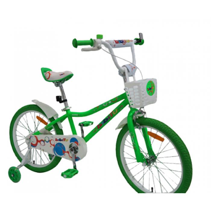 Детский велосипед Bibitu Aero 20 (зеленый, 2021)