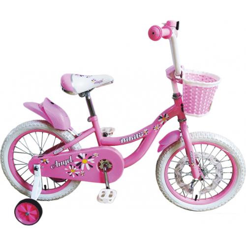 Детский велосипед Bibitu Angel 18 (розовый, 2021)
