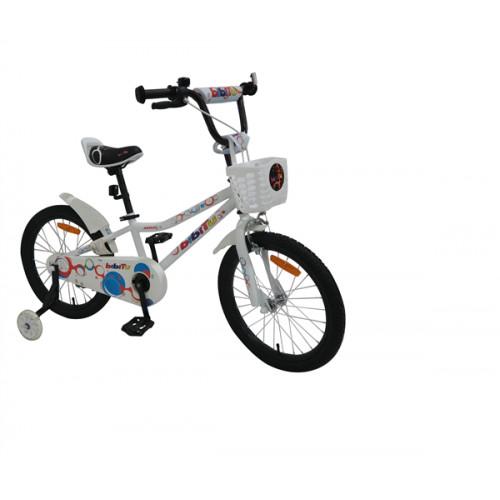 Детский велосипед Bibitu Aero 18 (белый, 2021)