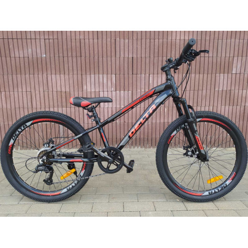 Велосипед Delta Crown 24 (черный)