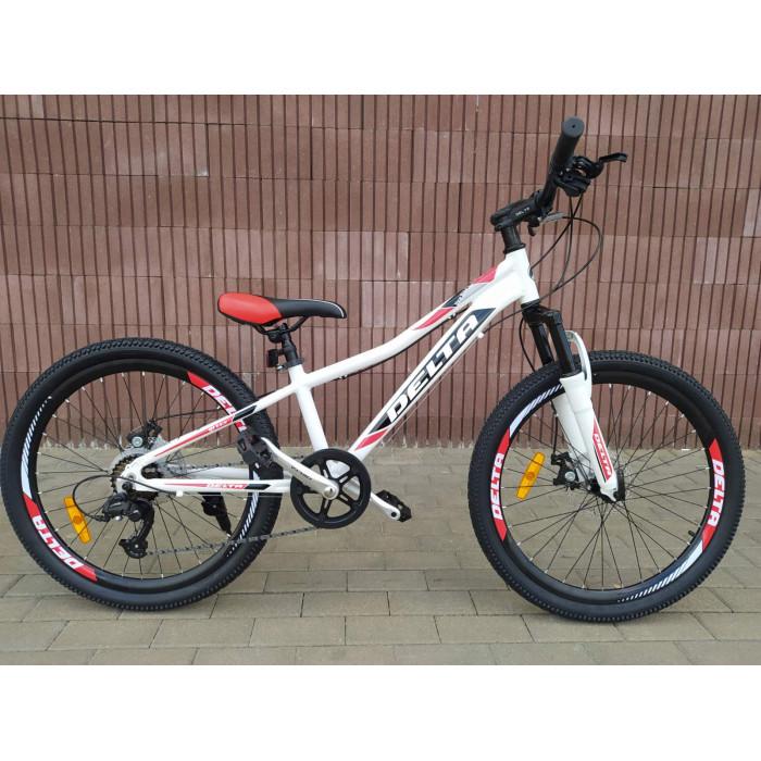 Велосипед Delta Queen 24 (белый)
