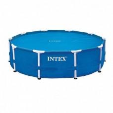 Тент-чехол с обогревающим эффектом Intex для бассейнов 29021  305 см