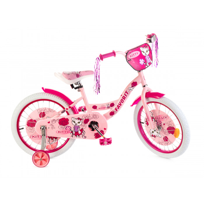 Детский велосипед Favorit Kitty 18 (2020)
