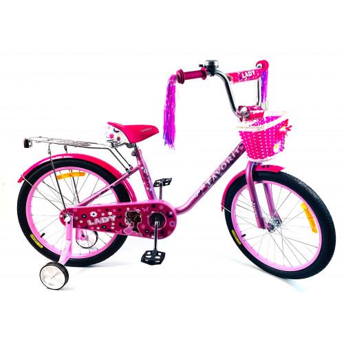 Детский велосипед Favorit Lady 18 (2020)