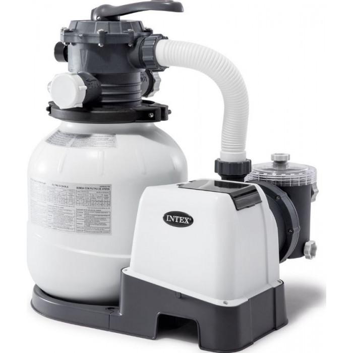 26648 Песочный фильтр-насос Intex KRYSTAL CLEAR® 10500 л/ч купить в Минске