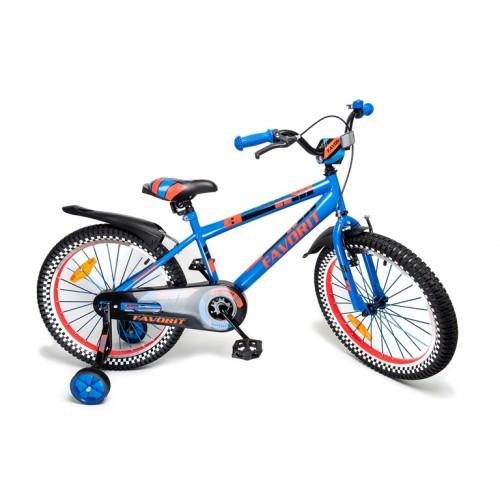Детский велосипед Favorit Sport 16 (синий, 2019)