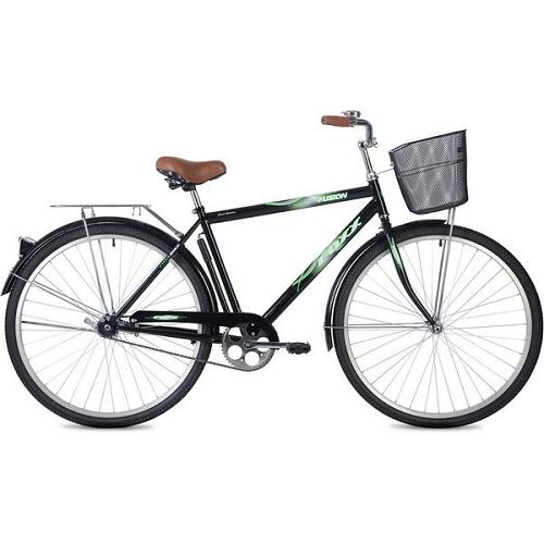 """Велосипед Foxx Fusion 28"""" (черный, 2019)"""