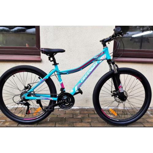 Велосипед Greenway 6702 M (бирюзовый, 2020)