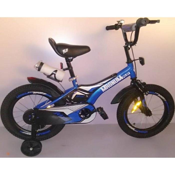 Детский велосипед Magnum Pilot 18 (синий, 2020)