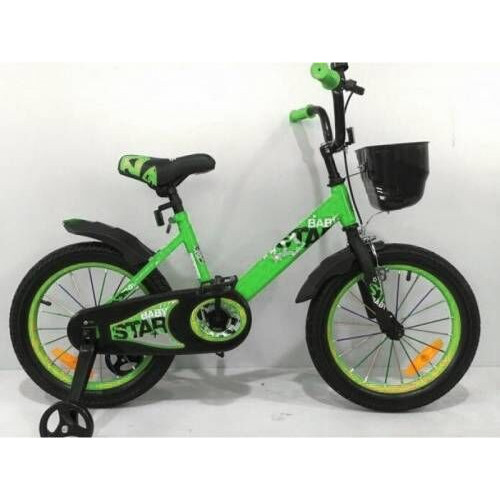 Детский велосипед Baby Star 16 (зеленый, 2020)