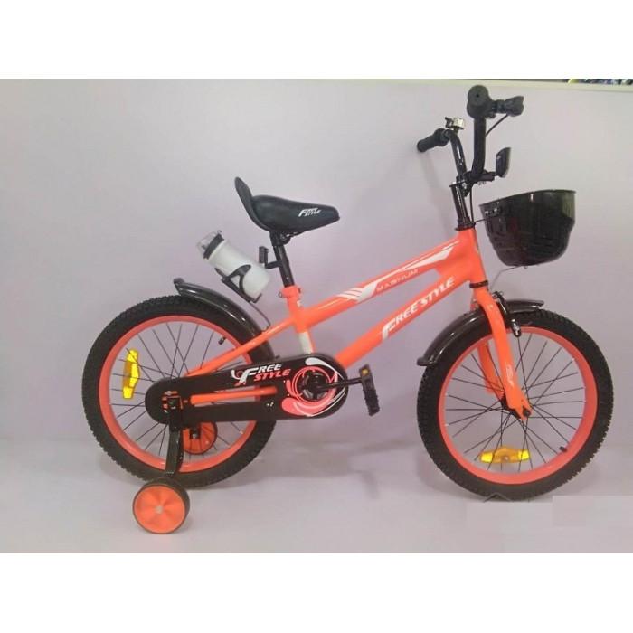 Детский велосипед Magnum Freestyle 16 (оранжевый, 2020)