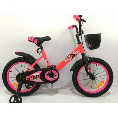 Детский велосипед Baby Star 18 (розовый, 2020)