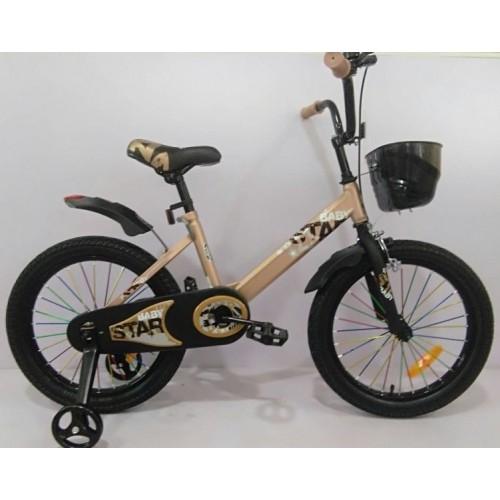 Детский велосипед Baby Star 16 (золотой, 2020)