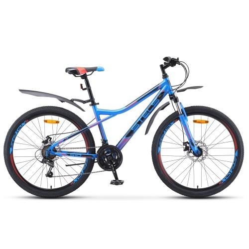 """Велосипед Stels Navigator 510 MD 26"""" V010 (синий/красный, 2020)"""