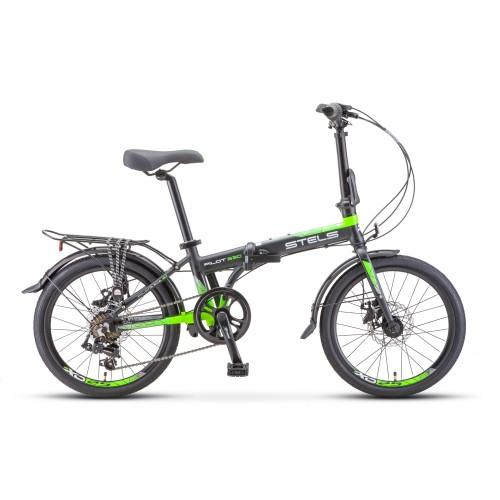 "Велосипед Stels Pilot 630 MD V010 20"" (зеленый, 2020)"