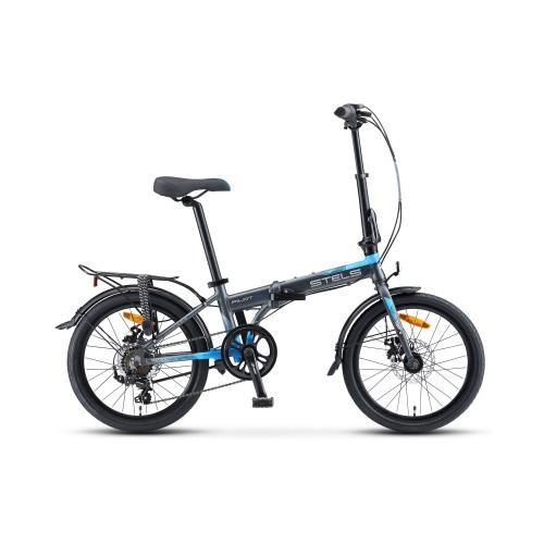 """Велосипед Stels Pilot 630 MD V010 20"""" (синий, 2020)"""