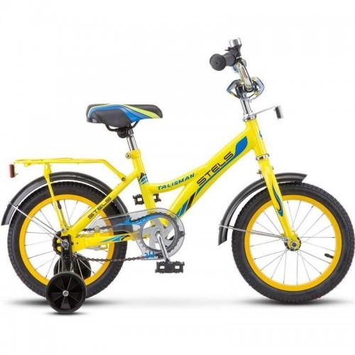 "Велосипед Stels Talisman 14"" Z010 (желтый, 2018)"