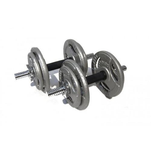 Набор гантелей металлические Хаммертон Atlas Sport 2x19 кг