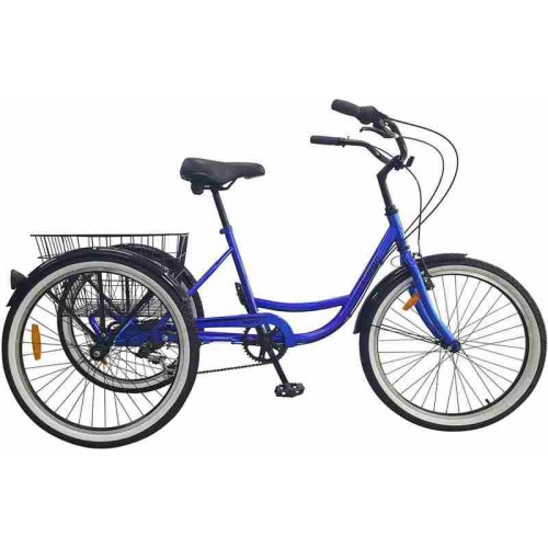 "Велосипед Aist Cargo 2.0 24"" (синий, 2018)"