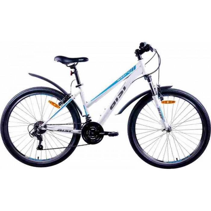 """Велосипед Aist Quest W 26"""" (белый/серый/голубой, 2019) купить в Минске"""