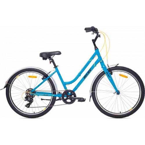 Велосипед Aist Cruiser 1.0 W 26 (голубой, 2019)