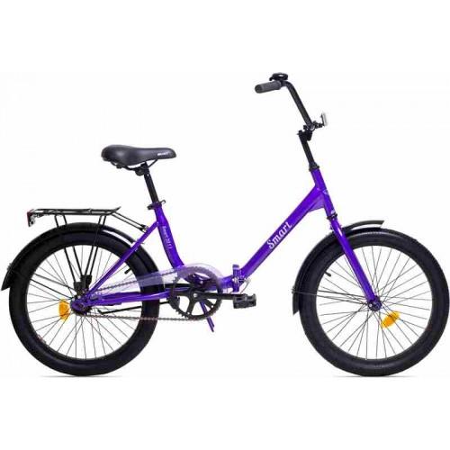 """Велосипед Aist Smart 1.1 20"""" (фиолетовый, 2019)"""