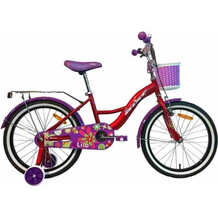 """Велосипед Aist Lilo 20"""" (бордовый/фиолетовый, 2019) купить в Минске"""
