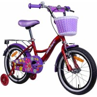 """Велосипед Aist Lilo 16"""" (бордовый/фиолетовый, 2019) купить в Минске"""